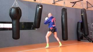 Hao123-bag work muay thai style 1