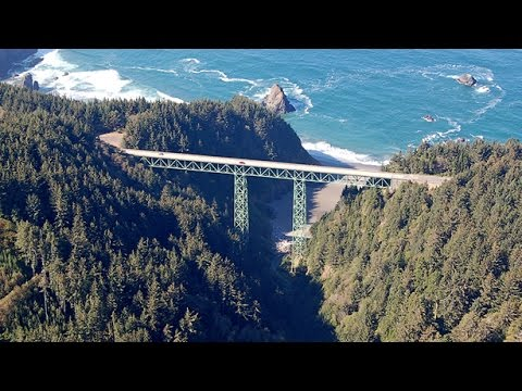Thomas Creek Bridge - AerialExtreme.com