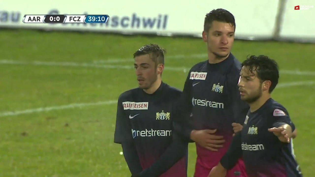 Aarau 1-2 FC Zurich