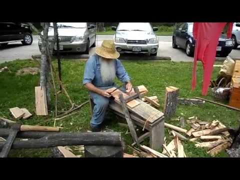 Making Red Oak Shingles
