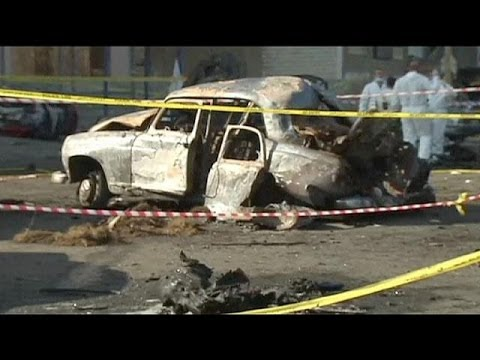 Suicide car bombing near army checkpoint in Beirut