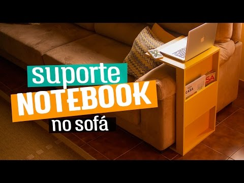 POLYPLAC - DIY: Suporte para notebook no sofá