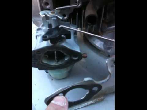 LAWNMOWER REPAIR: honda carburetor repair - YouTube