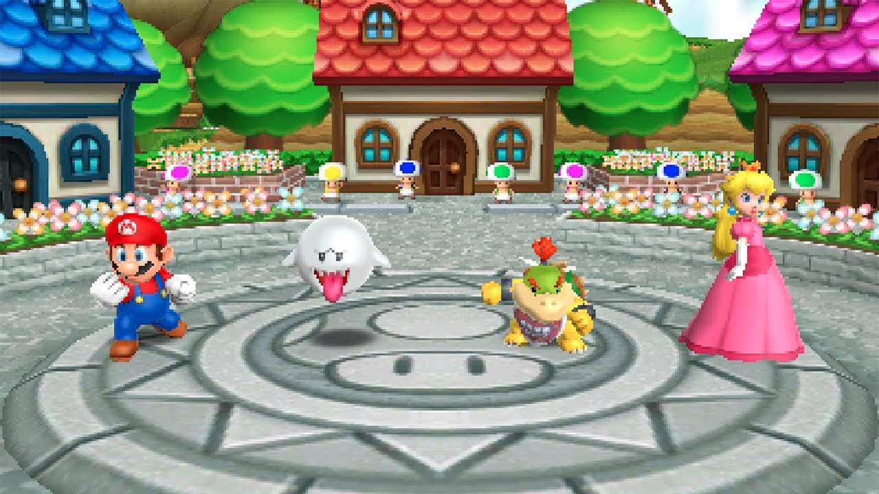 Mario Party Island Tour Perilous Palace Path