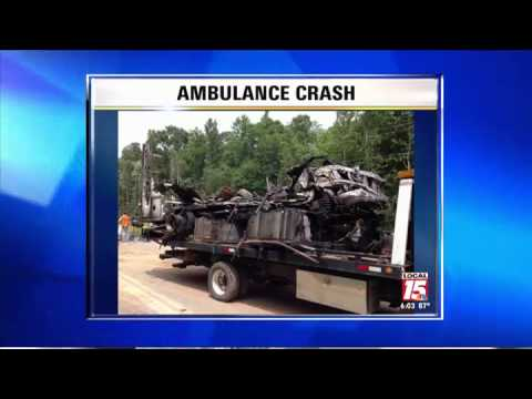 Two Killed in Ambulance Crash in Miss.