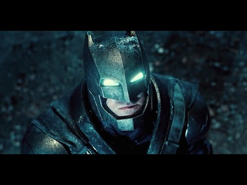 Superman VS Batman Ben Affleck Batman Suit and Batmobile Breakdown