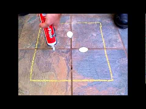 How To Fix Loose Hollow Tile Floors Don 39 T Remove Or