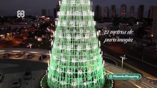 �rvore de Natal 2014 - Ribeir�oShopping