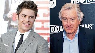 Zac Efron To Star In 'Dirty Grandpa' W/ Robert De Niro