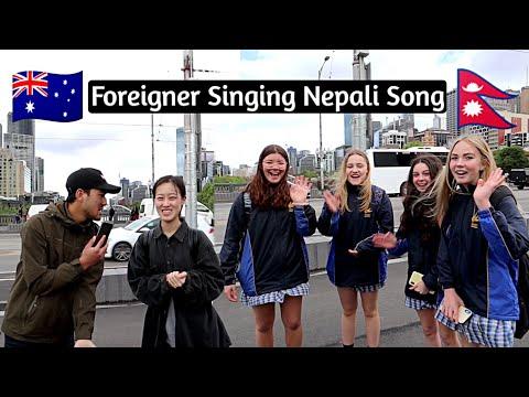 🇦🇺Foreigner Singing Nepali🇳🇵 Song | Funny Moment | Episode4 Sandip Karki