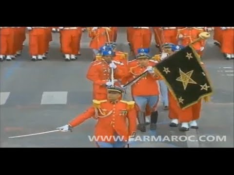 Hell March Army Parade Morocco 2014 | HD |720|