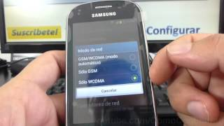 Como Activar Y Desactivar 2g Samsung Galaxy Fame S6810