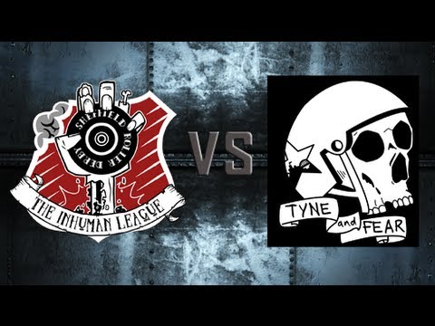 M.E.R.D 2013 - Inhuman League Vs  Tyne & Fear