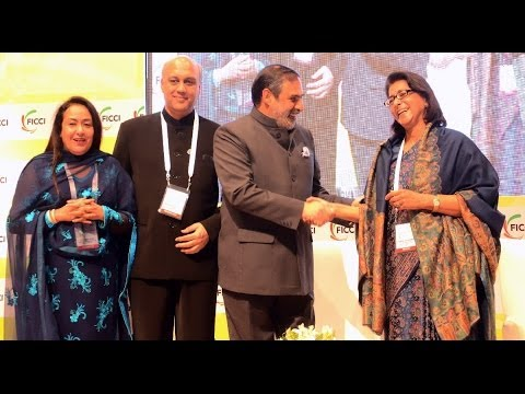 Anand Sharma address FICCI's 86th AGM