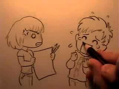 20 cách vẽ nhân vật truyện tranh