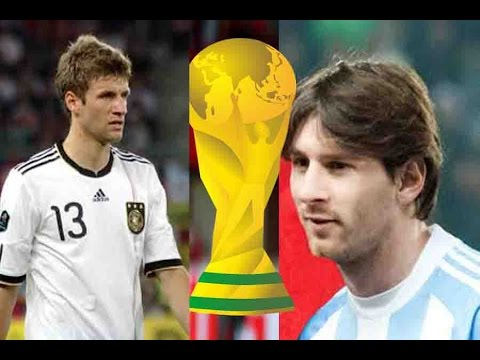 2014 FIFA WORLD CUP: Germany vs Argentina, the Final countdown; PROMO