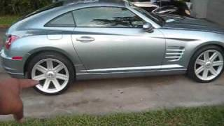Chrysler Crossfire Convertible videos