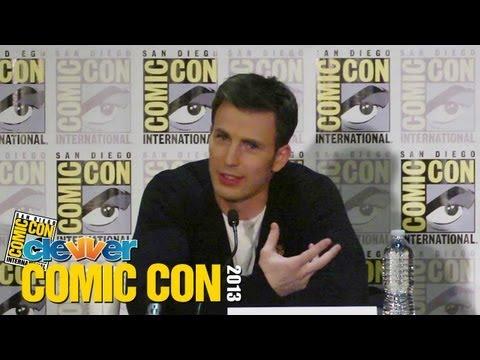 Captain America: The Winter Soldier 2013 Comic Con Press Conference