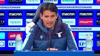 Roma-Lazio | La conferenza stampa di Mister Inzaghi