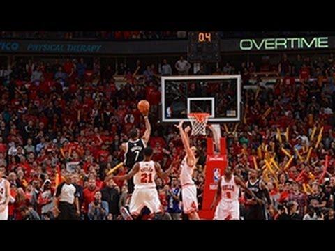 Robinson & Johnson's BIG shots in Overtime!