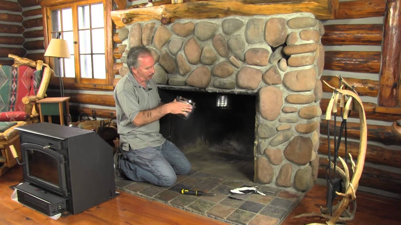 How to install a new chimney liner yourself youtube for Gas fireplace maintenance do it yourself
