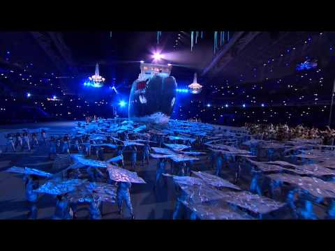 INCREDIBLE Scenes: Sochi 2014 Winter Paralympics opening ceremony