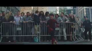 The Amazing Spider Man 2 End Scene: Kid Stands Up Against