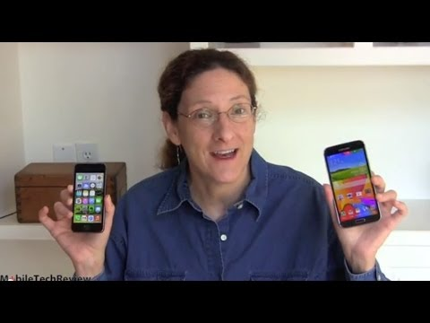Samsung Galaxy S5 vs. Apple iPhone 5s Comparison Smackdown