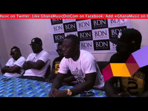Stranjah - - Signing to Boogie Down Nima (BDN) Record label press conference