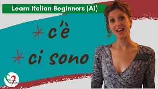 Learn Italian: C'è / Ci sono