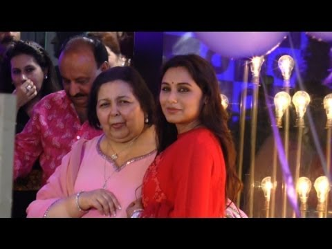 Rani Mukherjee's First Public Appearance Post Marriage