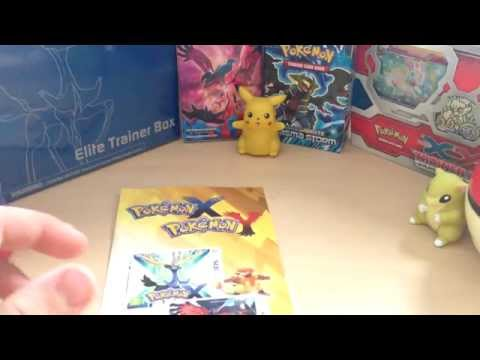 Pokemon X And Y TCG FREE POKEMON CARDS! Game Exclusive Giveaway!