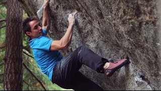 First Ascent of The Penrose Step V14 • Carlo Traversi