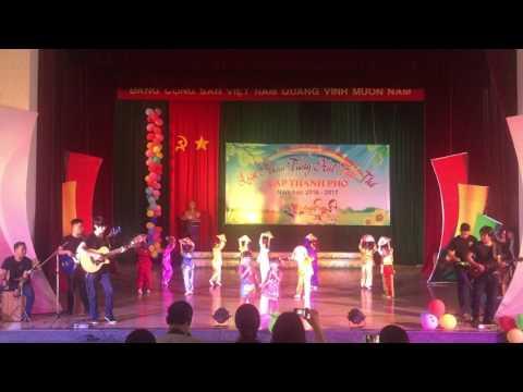 Hạt Gạo Làng Ta - Bé Minh Minh ft Đông Đông| Liên hoan tiếng hát Tuổi thơ tỉnh Phú Yên 2017