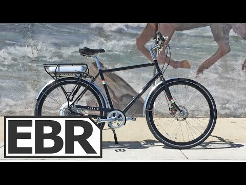 PUBLIC D8 Electric Video Review - Classic European Styled Ebike