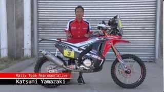 The new Honda CRF450 RALLY