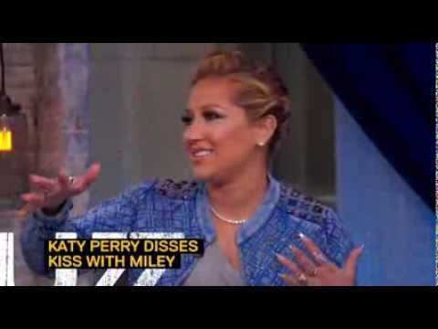 Adrienne Bailon on Miley Cyrus and Katy Perry's kiss
