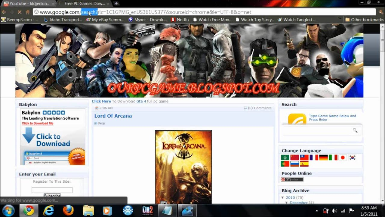 Ten Best Free Pc Game Sites For Full