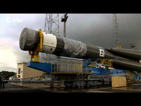 Update from Kourou the day before launch day