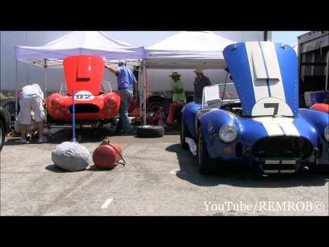 30 + Shelby Cobras @ Rolex Monterey Historic Races