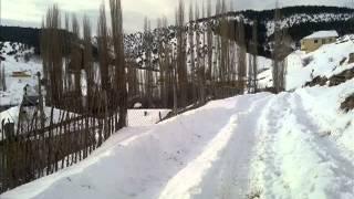 Merkez Mahallemizden Kış Manzaraları