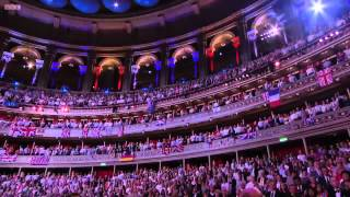 Jerusalem and God save the Queen - Last night of the Proms 2012