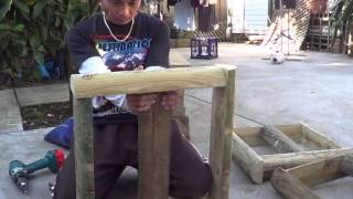 Growing Dragon Fruits Part 2 Building Frame For The