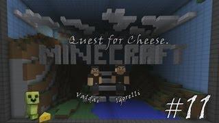 Minecraft Quest for Cheese. Серия 11 - Мышиные неприятности.