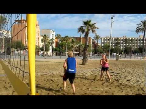 Beachvolley Barcelona Forår 2012
