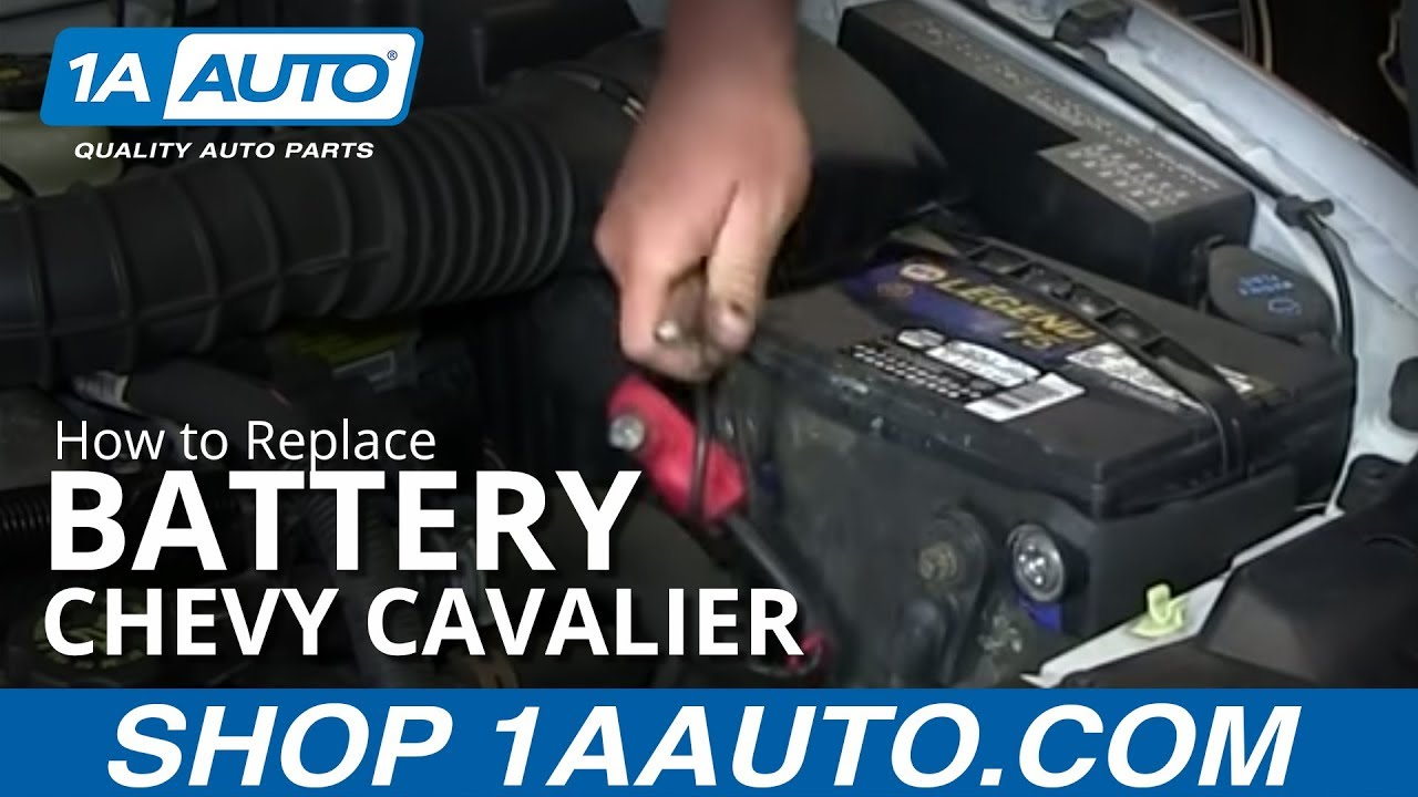 chevy astro van wiring diagram how to install replace dead battery 1995 05    chevy    cavalier  how to install replace dead battery 1995 05    chevy    cavalier