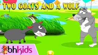 Two Goats and a Wolf - Bedtime Story for Kids | Truyện Tiếng Anh Có Phụ Đề