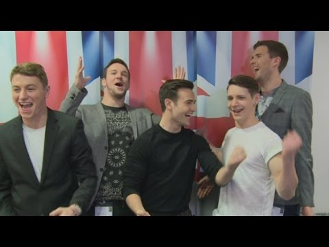 Britain's Got Talent 2014: Collabro celebrate victory by showing us their dance moves