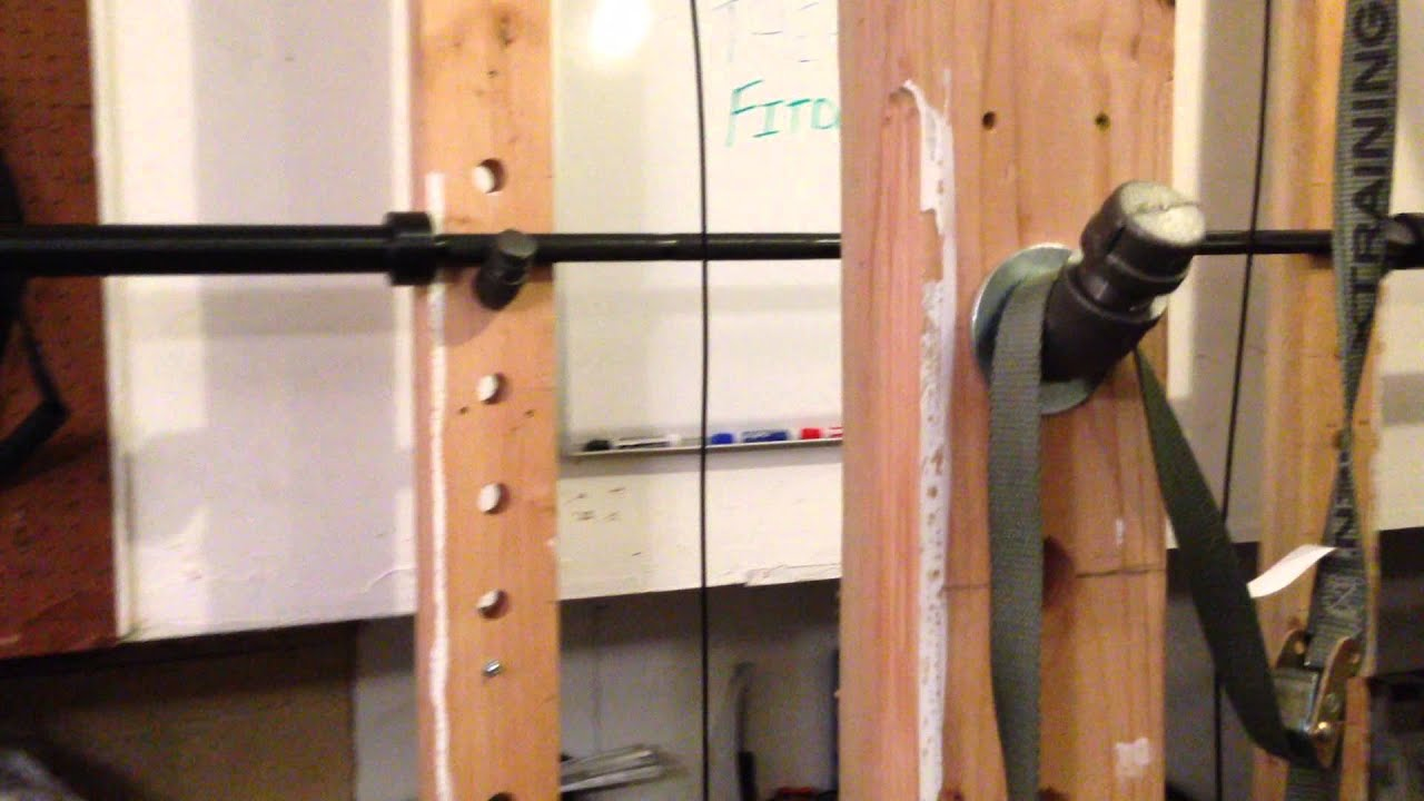 Wooden Power Rack Plans On How To Build One Youtube