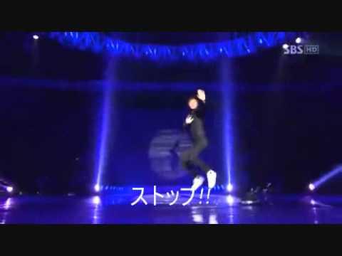 ユノとテミンのダンス